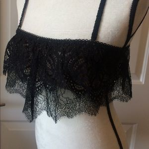 VS Dream Angels Bralette crop top lace bra